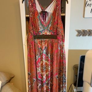 Style & Co maxi dress XL